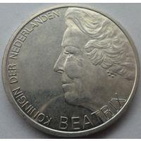 Нидерланды 10 гульденов 1995 года. Серебро. Состояние UNC!