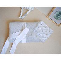 Конверт на выписку одеяло плюш 88х89