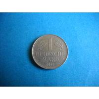 ФРГ 1 марка 1972 г. (F)