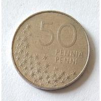 Финляндия, 50 пенни 1991 г.
