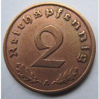 Германия. 2 рейхспфеннига 1940 A. 354
