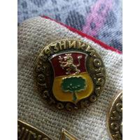 Значок СССР. Золотое кольцо. Вязники.