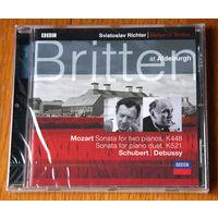 Richter / Britten. Piano Duets - Mozart (Audio CD - 2000)