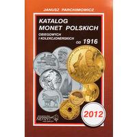 Katalog monet polskich 2012. Janusz Parchimowicz