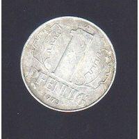 1 пфенниг Германия 1975_Лот #0378