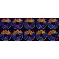 10 компакт-дисков Corel foto (цена за все)