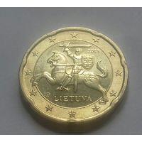 20 евроцентов, Литва 2015 г., AU