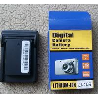 Аккумулятор (батарея) камеры OLYMPUS LI-10B LI-12B 3.7V, новый