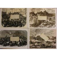 Крымская война 1854-1855. 20 гравюры одним лотом