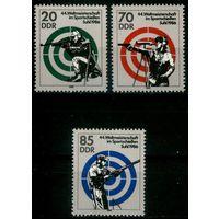 Германия, ГДР 1986 г. Mi#3045-3047** чистая полная серия (MNH)