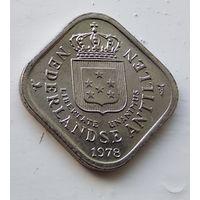 Нидерландские Антильские острова 5 центов, 1978 1-1-53