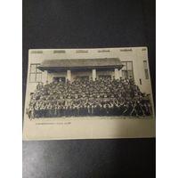 Групповое фото немецких военнослужащих.  18*24 оригинал