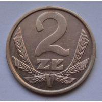 Польша 2 злотых, 1986 г.