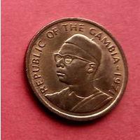 05-13 Гамбия, 5 бутут 1971 г. Единственное предложение монеты данного года на АУ