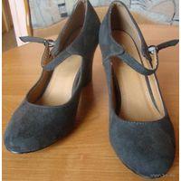 Красивые туфли, р-р 37, новые, б/у 1 раз на 2 часа