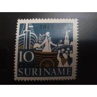 Суринам 1963 автономия Нидерландов Порт одиночка