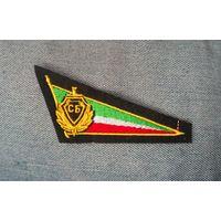 Уголок (кокарда) на берет Службы безопасности Чечни. - ЗНИЖКА - %