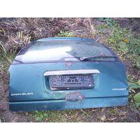 Лот 1313. Крышка, дверь багажника CHRYSLER VOYAGER, 1995-2001 Г.В. целиком или по частям. Старт с 200 рублей!