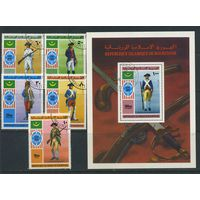 Мавритания /солдаты/ 1976г -5606