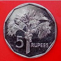 34-15 Сейшелы, 5 рупий 2010 г.
