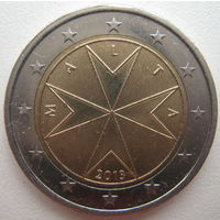 Мальта 2 евро 2013 г.