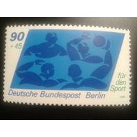 Германия Берлин 1980 водное поло