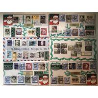 50 конвертов Австрии со спецгашением