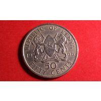 50 центов 1966. Кения. Хорошая!
