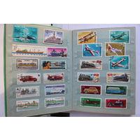 Альбом с марками 24 страниц (марки - Польша, СССР)