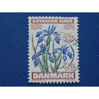 Дания 1974г. Флора.