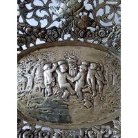 Блюдо,чаша, Серебро Германия 19 век