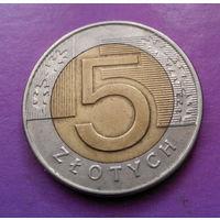 5 злотых 1994 Польша #10