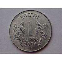 Индия 1 рупия 2004 + 2 рупии 2010