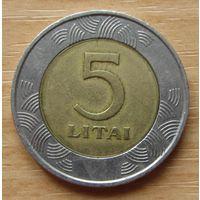 ЛИТВА-5литов1998г. KM# 113
