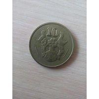 10 Центов 1993 (Кипр)