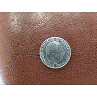 1 франк 1988 Франция ( 30 лет Пятой Республике )