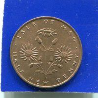 Остров Мэн 1/2 пенни 1971