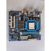 Материнская плата AMD Socket AM2+/AM3 Gigabyte GA-MA74GM-S2 (906841)