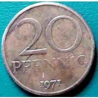 20 пфеннигов 1971 (1)