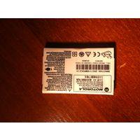 Аккумулятор Motorola С117,С118