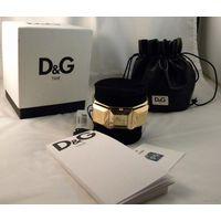 Часы для самых элитных Дам_DW0273_Оригинал_D&G от Dolce & Gabbana__Женские Наручные Часы_Оригинал на 100%_Упаковка+Документы_К орпус выполнен из нержавеющей стали с позолотой_НОВЫЕ!