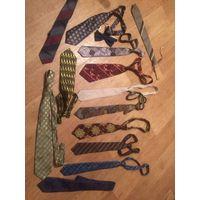 Лот галстуков ушедшей эпохи. От 70-х до 90-х годов.