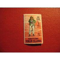 Марки Мэри Рид (пираты 17-18 веков) 1970 год Британские Виргинские острова
