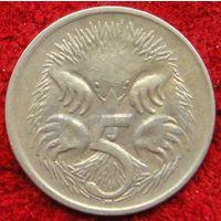 7326:  5 центов 1870 Австралия
