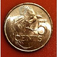 104-14 Тринидад и Тобаго, 5 центов 1980 г.
