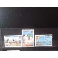 Кирибати 1980 Старт ракеты** Полная серия