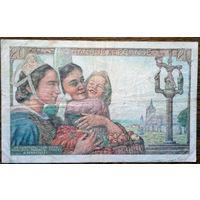 Франция, 20 франков 1942 год, Р100