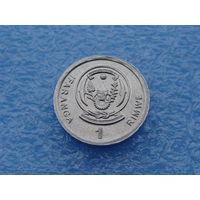Руанда. 1 франк 2003 год КМ#22
