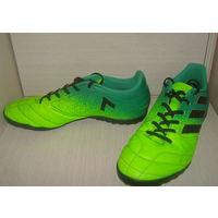 Кроссовки спортивные - футзалки фирменные Adidas 40-41р (оригинал). Отличное качество и состояние. Распродажа!