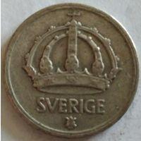 Швеция 50 эре 1945 серебро